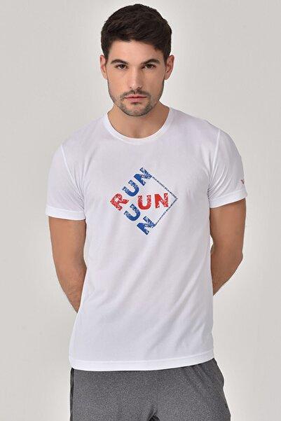 bilcee Beyaz Erkek T-Shirt GS-8805