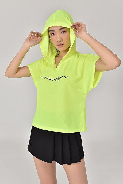 A.Yeşil Kadın T-Shirt GS-8607