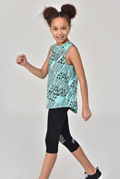 Turkuaz Kız Çocuk Atlet GS-8173