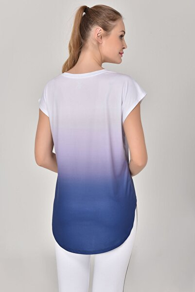Lacivert Kadın T-Shirt GS-8078