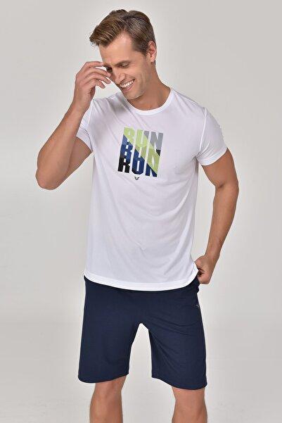 bilcee Beyaz Erkek T-Shirt GS-8801