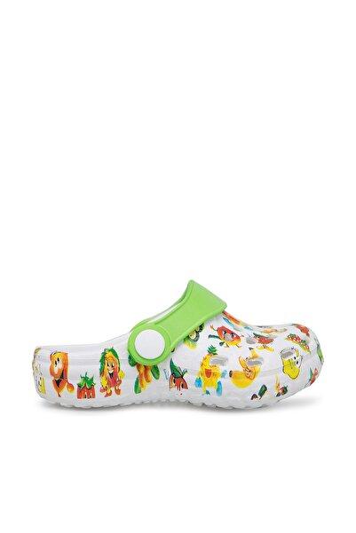 Beyaz Unisex Sandalet E009B026