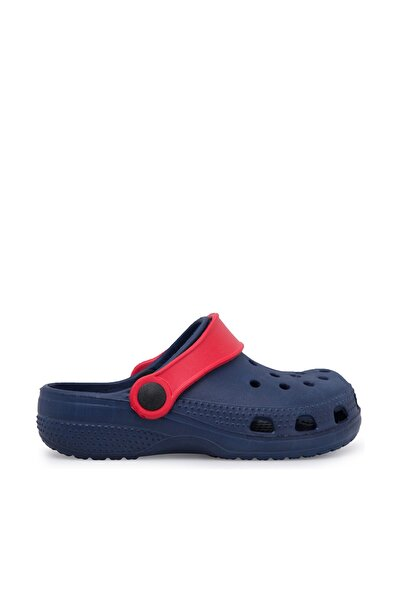 Lacivert Kırmızı Unisex Sandalet E012P000