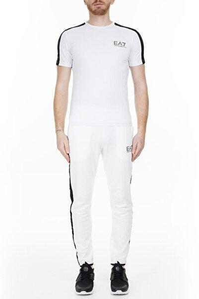 EA7 Erkek Beyaz Pantolon