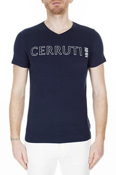 Cerruti Erkek Lacivert T-Shirt 203-001645