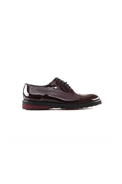 Fosco 7564 Bağlı Erkek Klasik Ayakkabı-rugan Bordo