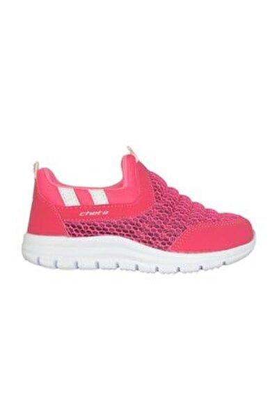 C91240 Pembe Bağsız Yazlık Kız Çocuk Spor Ayakkabı