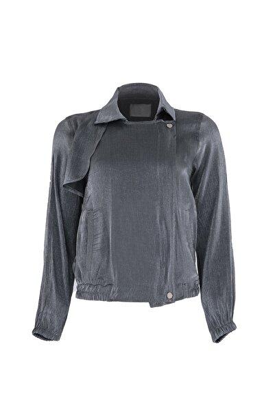 Oblavion Füme Fermuarlı Ceket