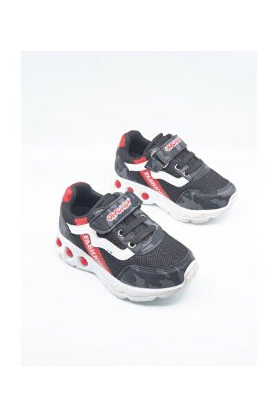 Arvento Unisex Siyah Çocuk Sneaker Ayakkabı