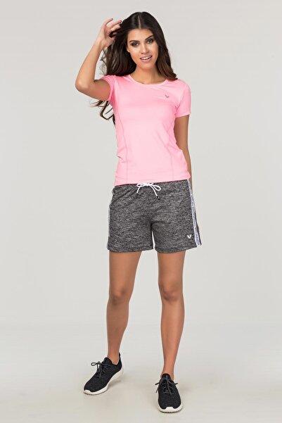 bilcee Pembe Kadın Antrenman T-Shirt FS-1735