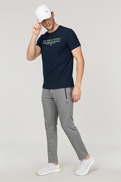 Lacivert Erkek Antrenman T-Shirt FS-1675