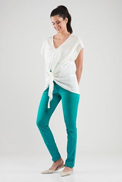 LYN MAMA NOLY Beli Ayarlanabilir Yeşil Hamile Pantolon