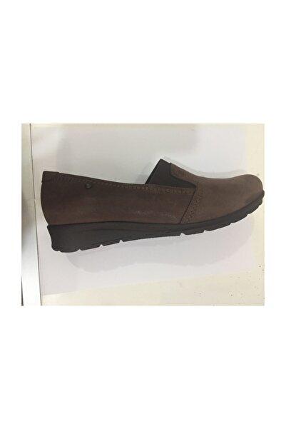 Ceyo Kadın Kahve Anatomik Ayakkabı 6002