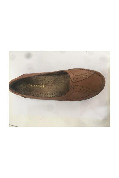 Ceyo 9921-4 Taba Bayan Anatomik Ayakkabı