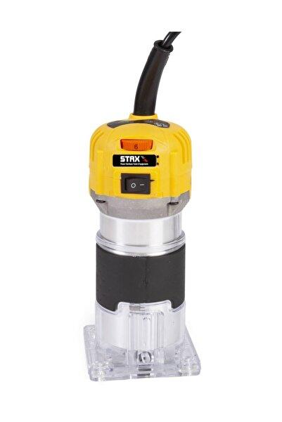 STAXX POWER Staxx Pro Devir Ayarlı 1200w Formika Traşlama Freze Makinesi 6mm Pens 2 Yıl Garantili