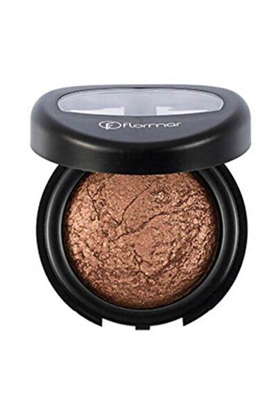 Flormar Diamonds Baked Eyeshadow Işıltılı Sıcak Kahverengi Göz Farı D0 8690604083909