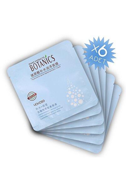 YOYOSO Plant Extract Nemlendirici&Yenileyici Maske (6 adet)