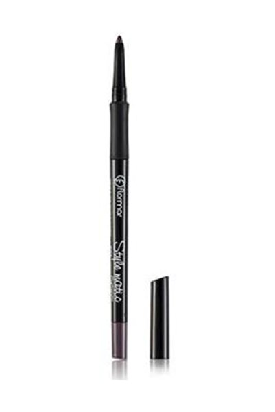 Flormar Mor Eyeliner - Style Matic Eyekiner S03 Violet Avenue 8690604190508