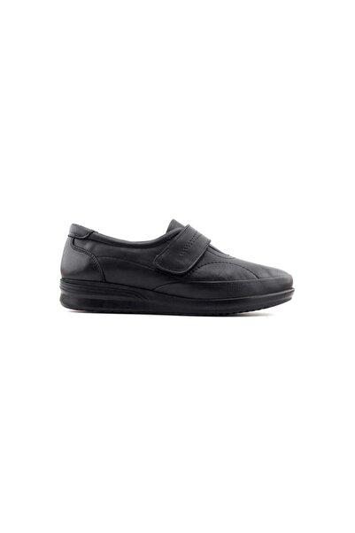 Kayra 03 Hakiki Deri Kadın Ayakkabı-siyah