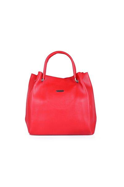 Oblavion Kırmızı Suni Deri Kadın Kol Çanta 1001