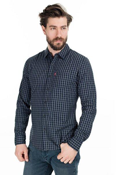 Levi's Erkek Slim Fit Kareli Gömlek 86619-0002