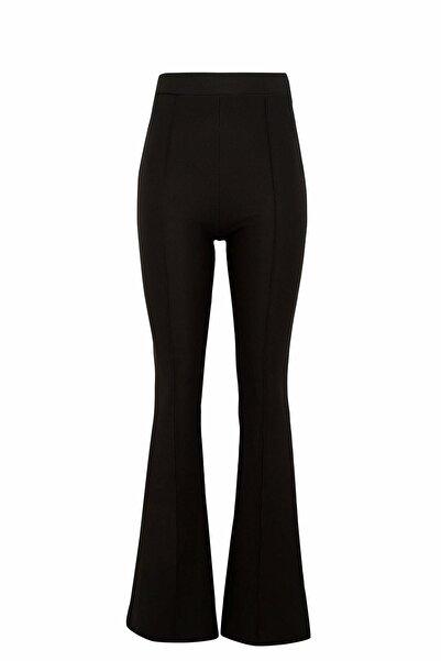 DeFacto Kadın Siyah Flare Fit Dokuma Pantolon N8541AZ.20SM.BK27