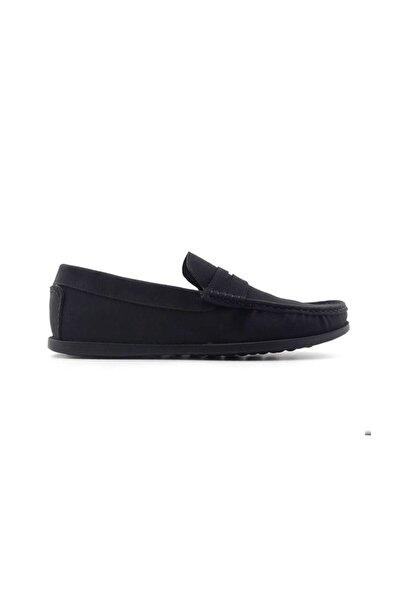 Kayra Catchers 124 Hakiki Deri Erkek Ayakkabı-nubuk Siyah