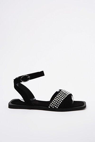 TRENDYOLMİLLA Gümüş Taşlı Kadın Sandalet TAKSS20SD0078