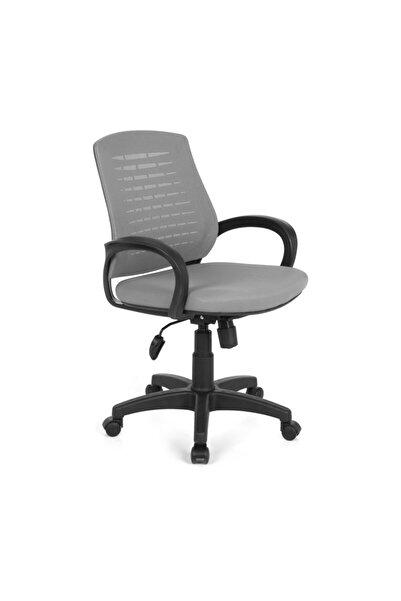 Fabrika Çalışma Sandalyesi Gri Ofis Sandalyesi