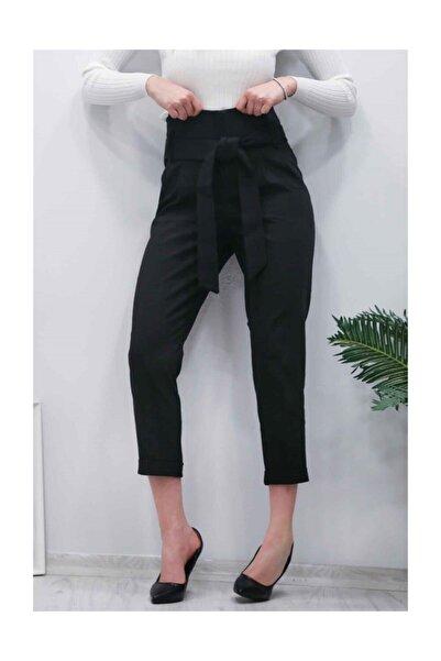 Madmext Mad Girls Siyah Havuç Pantolon Mg119