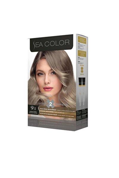 Sea Color 9.1 Elmas Sarısı 2 Tüplü Set Boya