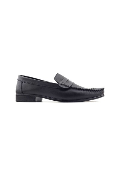 Kayra Catchers 2020 Hakiki Deri Erkek Ayakkabı-siyah