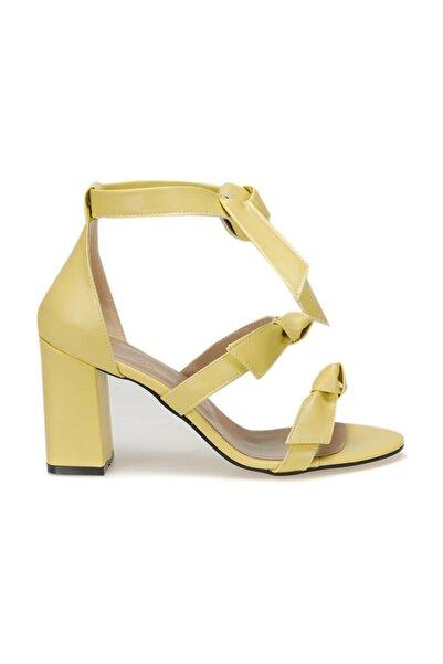 Butigo SIMPSON51Z CİLT Sarı Kadın Sandalet