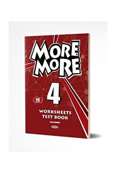 ?Kurmay ELT More and More Worksheets Test Book 4