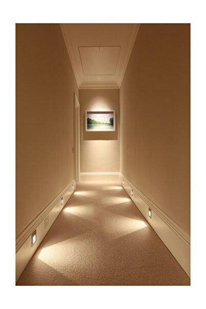 3w Led Koridor Ve Merdiven Aydınlatma Armatürü, Mavi Işık