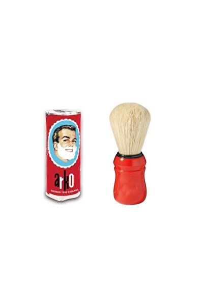 ARKO Sakal Bıyık Tıraş Fırçası Ve Tıraş Sabunu