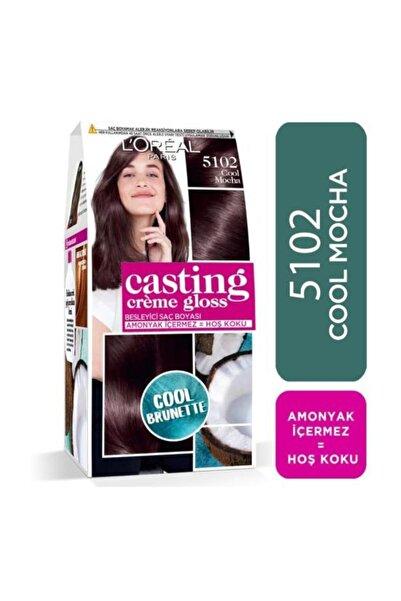 L'Oreal Paris Saç Boyası - Casting Crème Gloss 5102 Cool Mocha 3600523807178
