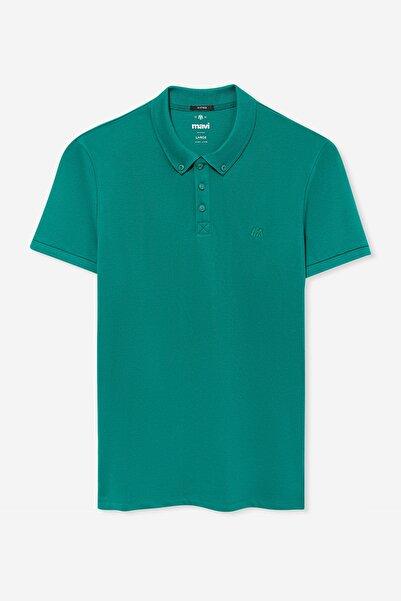 Erkek Yeşil Polo T-Shirt 063247-30836