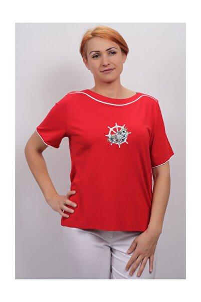 Sude Kadın Kagi Penye Bluz 2105