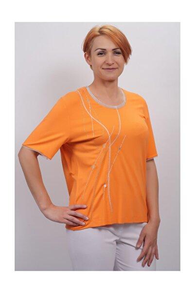 Sude Kadın Kagi Penye Bluz 2110