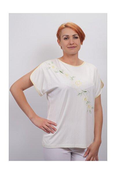 Sude Kadın Kagi Penye Bluz 2115