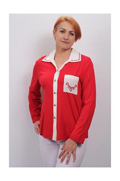 Sude Kadın Kagi Penye Bluz 2103
