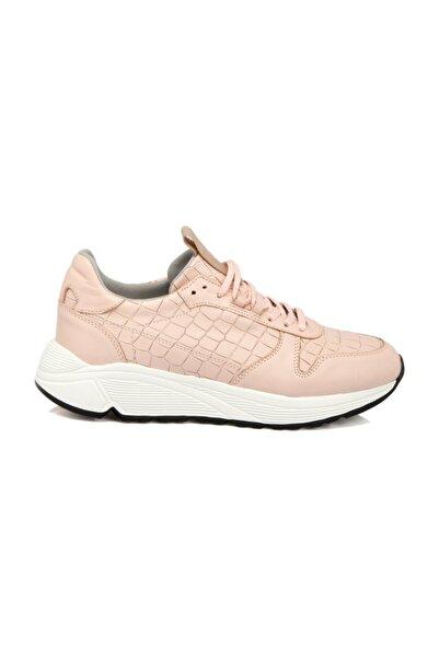 Tergan Deri Pudra Kadın Ayakkabı 64396L8X