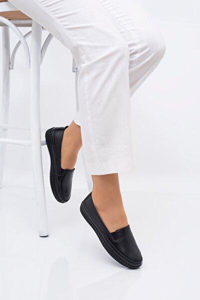THE FRİDA SHOES Siyah Kadın Ayakkabı 7010