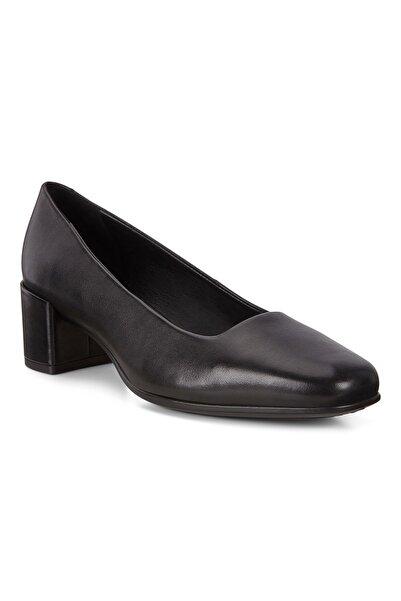 Ecco Kadın Klasik Topuklu Ayakkabı Shape Squared 35 Black Siyah 290503