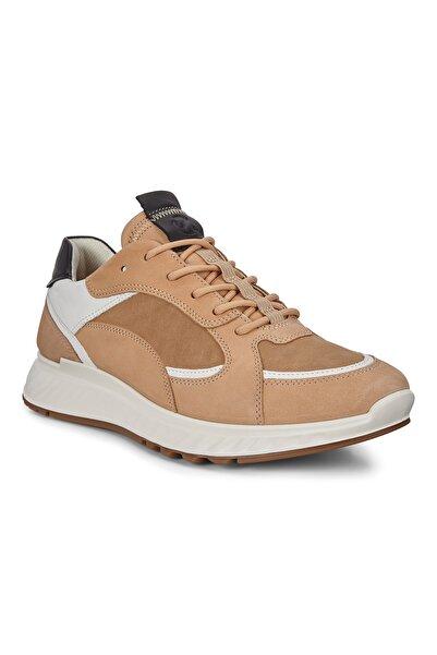 Ecco Erkek Sneaker St.1 M Powder/Beige/White/Black Multi Color 836234