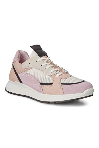 Ecco Kadın Sneaker St.1 W Blossom Rose/Black/White/Rose Dust Multi Color 836273