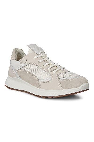 Ecco Kadın Sneaker St.1 W Shadow White/White/Shadow White/White Beyaz 836273