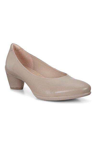 Ecco Kadın Klasik Topuklu Ayakkabı Sculptured 45 Grey Rose Bej 230203