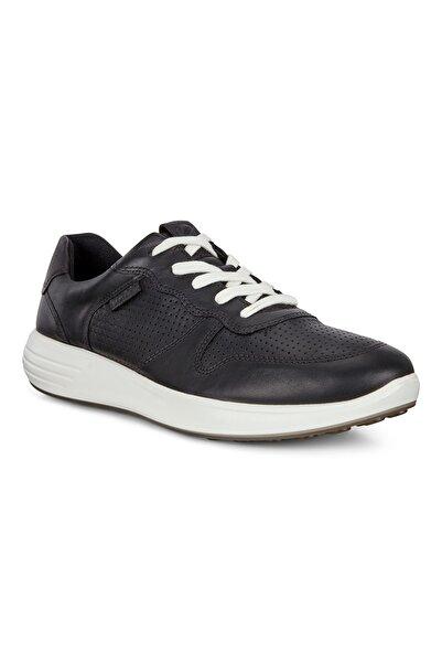 Ecco Erkek Sneaker Soft 7 Runner M Black/Black Siyah 460634